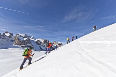 Salewa Climb to Ski Camp 2015 a San Martino di Castrozza