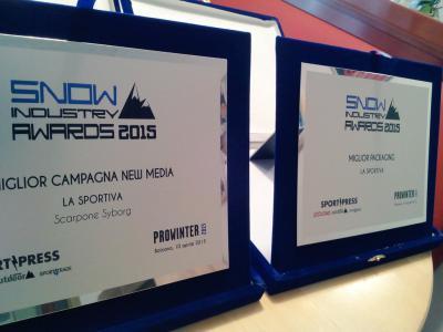 Snow Industry Award - 2 premi per LaSportiva