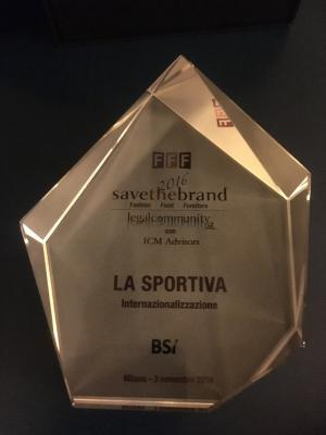Save the Brand 2016: La Sportiva sulla mappa eccellenze Made in Italy