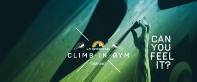 La Sportiva Climb in GYM Tour
