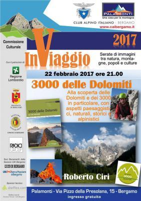 InViaggio - Roberto Ciri 3000 delle Dolomiti