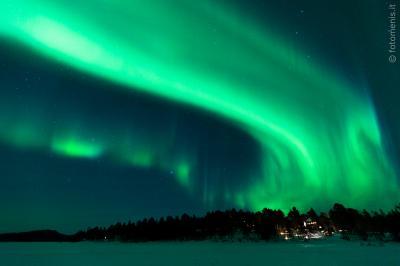 Tre mesi a caccia di aurore boreali
