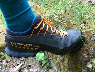 "Falesia.it testa scarpa La Sportiva ""Approach Traverse X TX4"""