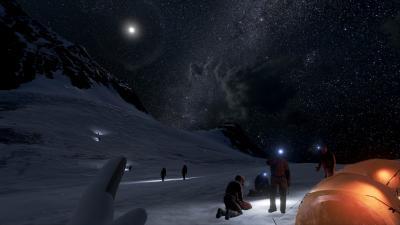 Scalare l'Everest grazie alla realtà virtuale
