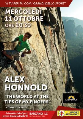 Alex Honnold da DF Sport Specialist