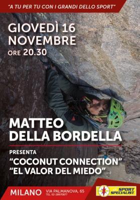 A tu per tu con i grandi dello sport - Matteo della Bordella