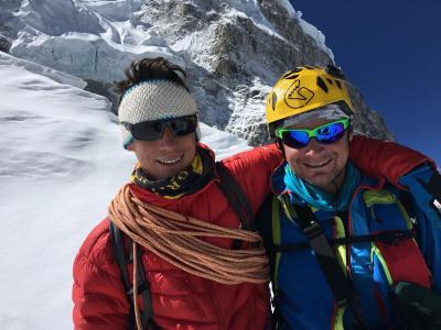 Marco Camandona e François Cazzanelli sul Lhotse senza ossigeno