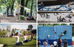 City Outdoor Games 2017 sbarcano in Darsena