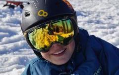 Test di velocità maschere da sci con lenti intercambiabili