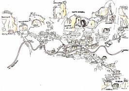 Cartina del paese - associazione la Selva