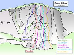 Rocca di Perti. Parete Nord - www.christian-roccati.com