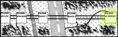 Cartina per avvicinamento - Patabeng