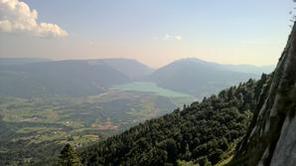 Vista sul lago di S.Croce - Saf