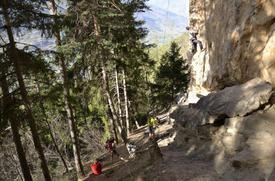 Vista della parete di Ozein - Gulliver.it
