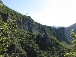 Vista della parete di Vaccarese - Lecco Notizie