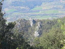 Vista delle pareti dalla Chiesetta di Sant'Erasmo - F. Nullo