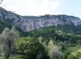 Vista della parete - Fra Climb