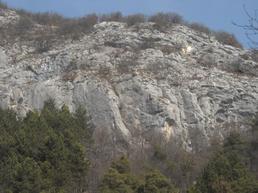 Vista della parete - Trekking-etc