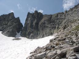 La Punta Claudio dai pressi dell'attacco - Marco Cencetti
