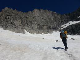 avvicinamento su nevaio - Zilioli Enea