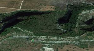 Cava Donna - google Earth