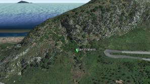 Falesia San Fratello - Google Earth