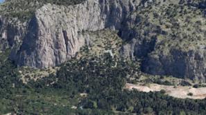 Falesia Schiavo - Google Earth