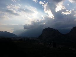 Panorama dalla terrazza sopra la falesia - Andrea Facchetti