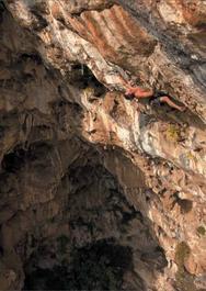 la vicina cavadonna - upclimbing