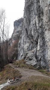 Vista della falesia - Marco Arrigoni