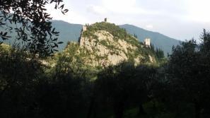 Vista del Castello di Arco dalla falesia - Andrea Facchetti