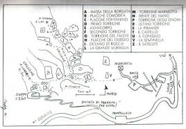 Mappa settori - Teddy