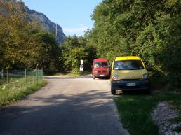 Piazzole parcheggio falesia Red Poin Wall - Andrea Facchetti