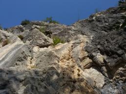 Settore alto falesia Red Point Wall - Andrea Facchetti
