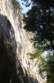 Settore basso falesia Red Point Wall - Andrea Facchetti