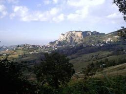 Veduta panoramica di Perticara - Crystals84