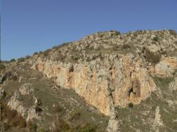 Atena Lucana Vista della parete - lucanianaturaverticale.it