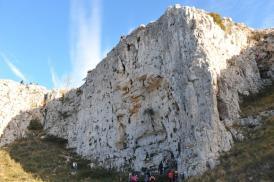 Vista della Parete - lucanianaturaverticale.it