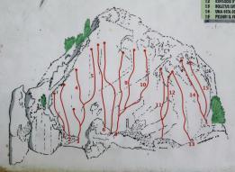 Mappa delle vie  - Codazzi Stefano