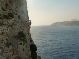 Climbing at Kalymnos - alpguide