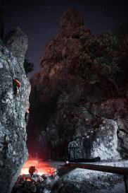 Falesia di notte - Giuseppe Marino