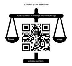 QR code per prenotare l'accesso alla Falesia - Jimmy