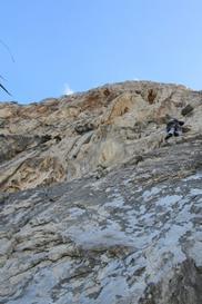 terzo tiro - Paradiso di arrampicata in Sicilia