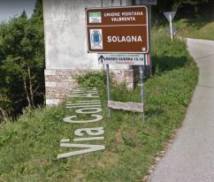 Cartello indicatore d'inizio sentiero - google