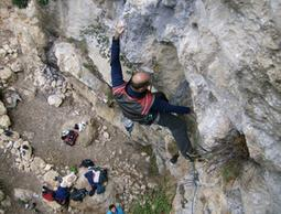 Bava del drago - up-climbing