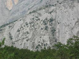 Foto della Placche Zebrate - Gruppo Alpinismo Moderno