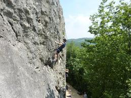 Vista della parete di Avesa (Busi Bassi) - X Mountain