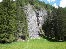Vista della parete - bergsteigen.com