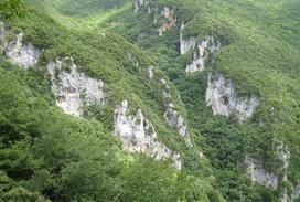 Vista panoramica delle pareti - Falesia on Line