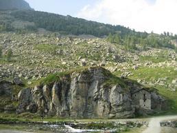 Vista della parete di Dondena - www.cuneoclimbing.it
